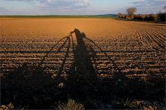 Schattenradler (Thema Licht & Schatten)