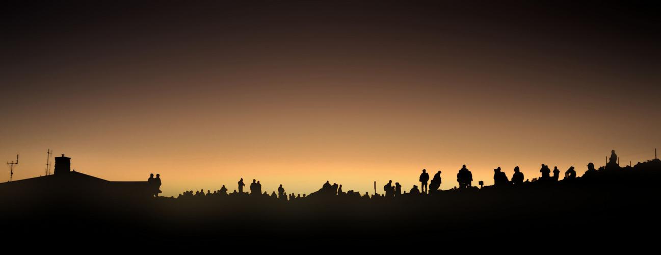 Schattenspiel auf dem Haleakala Crater