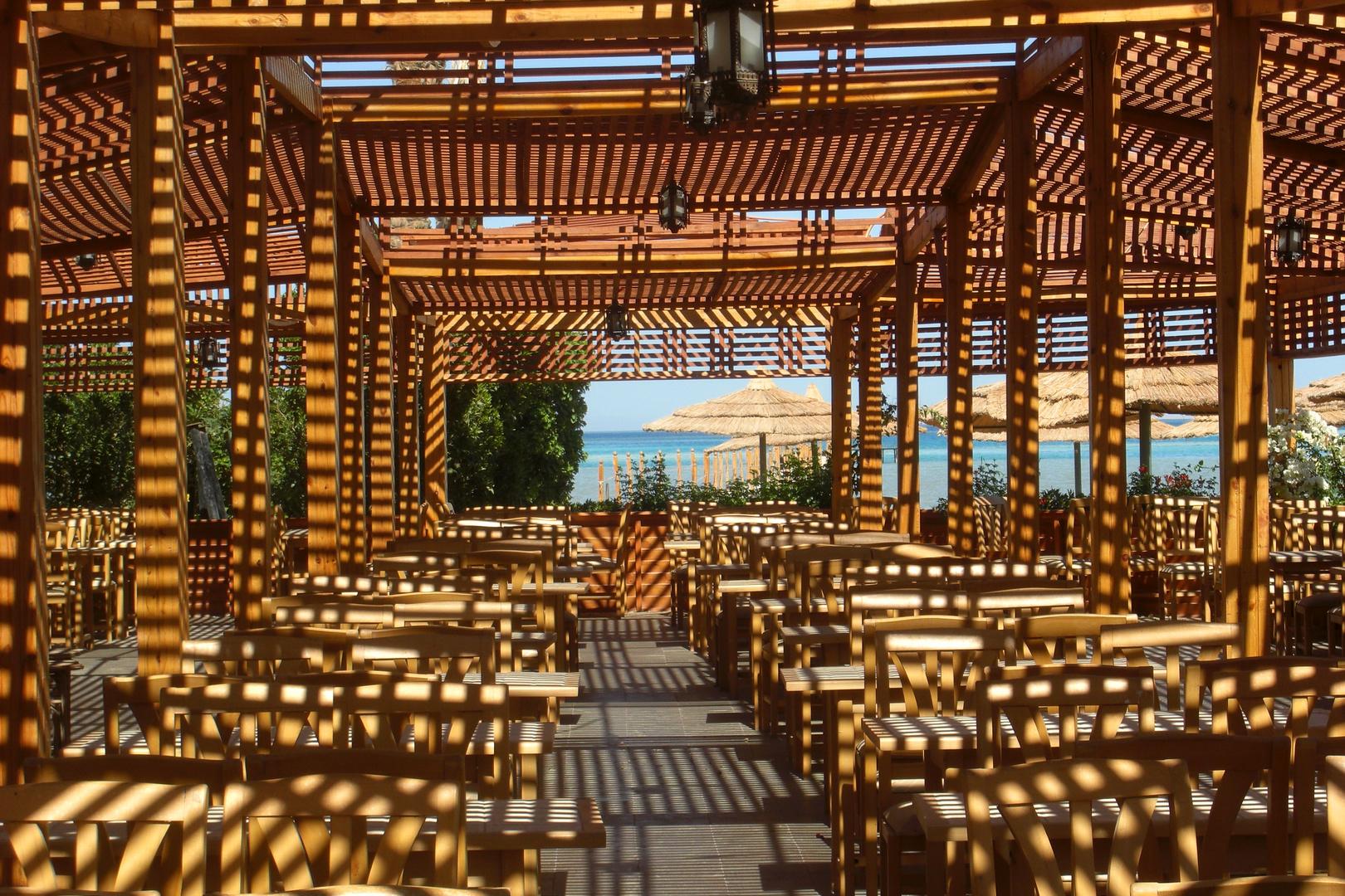 Schattenspiel - Hurghada, Strand