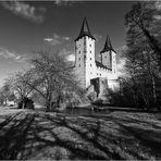 Schattenspiele am Schloss Rochlitz