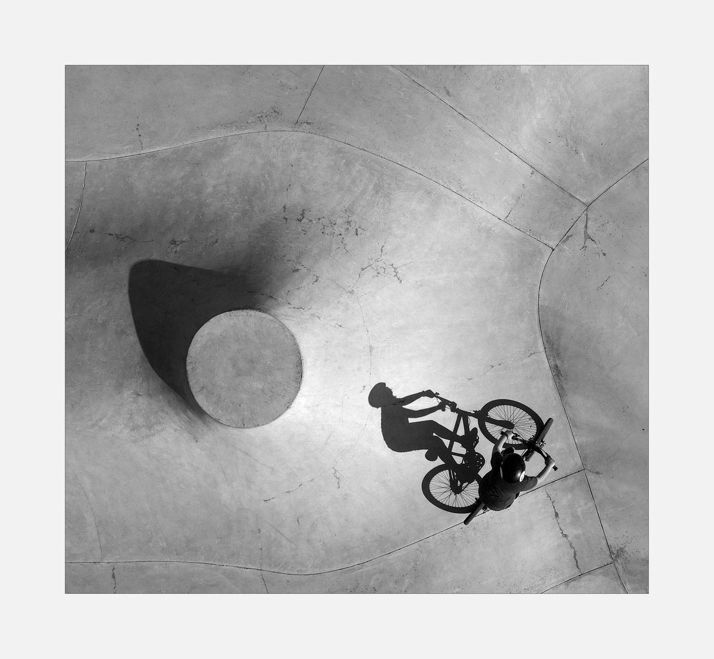 Schattenspiele im Bikepark III