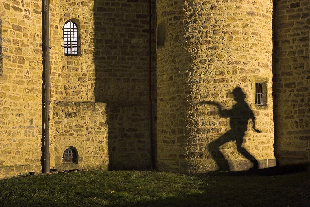 Schattenspiele in Fulda ...