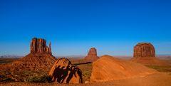 Schattenspiele, Monument Valley, Arizona, USA