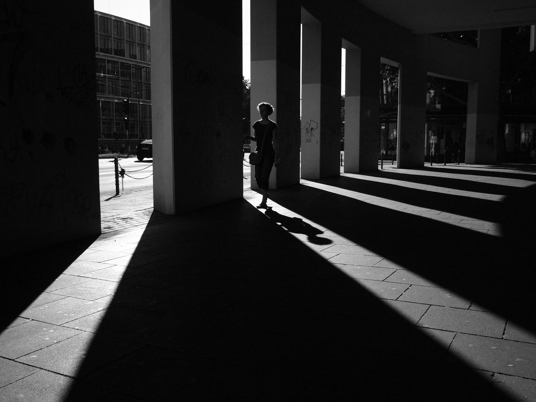 Schattenspiele/Sommer abend