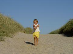Schau mal hier ist ganz viel Sand am Meer
