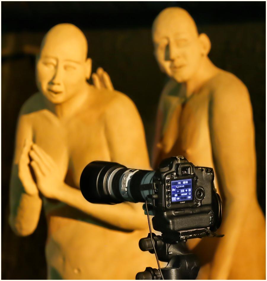 Schau nur, eine Canon!!