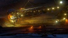 Baunkohle-Tagebau