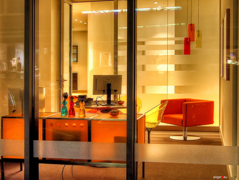 Schaufensterbüro