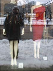 Schaufensterpuppen und ich - in Berlin-Mitte...