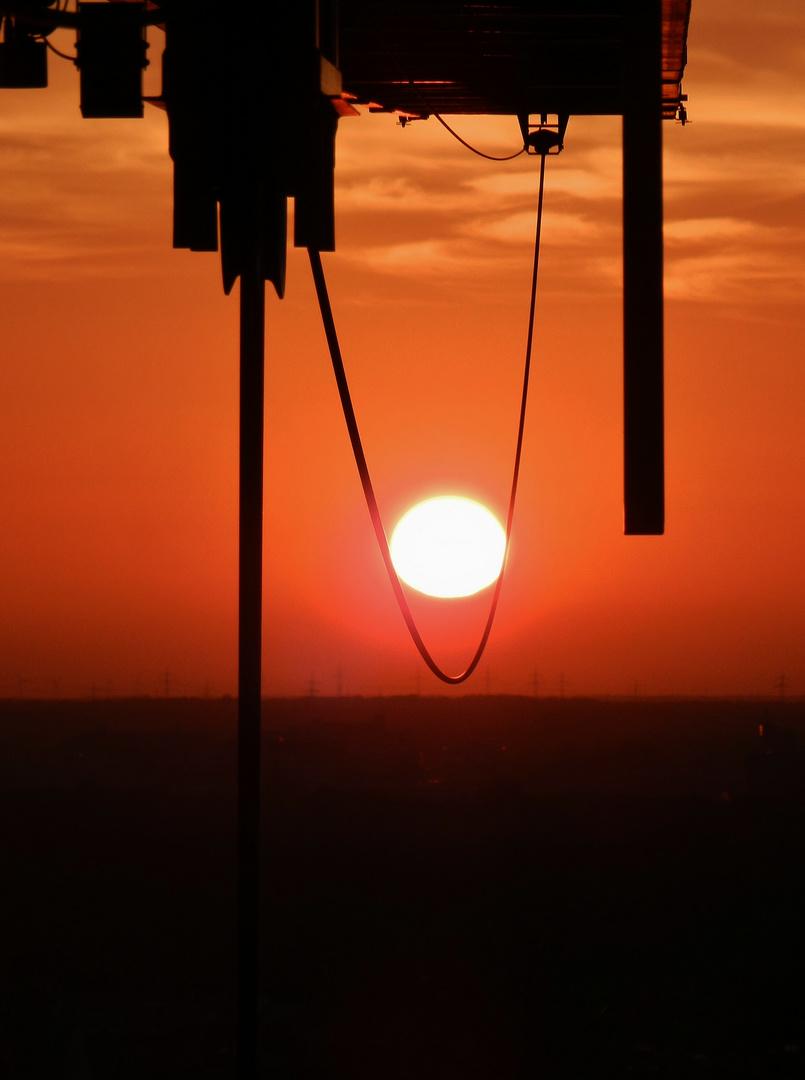Schaukel für die Sonne