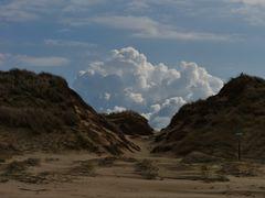 Schauspiel hinter den Dünen