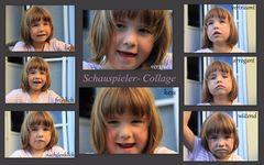 Schauspieler Collage