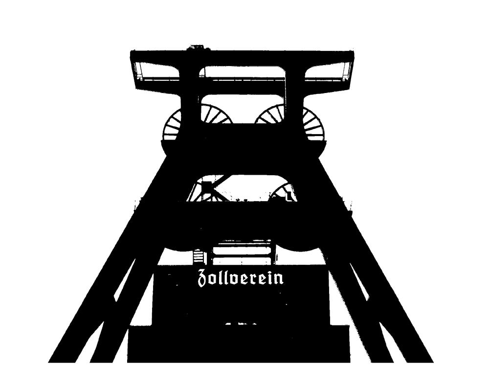Scheerenschnitt - Zollverein