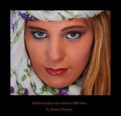 Scheherazadea who told her 1001 tales