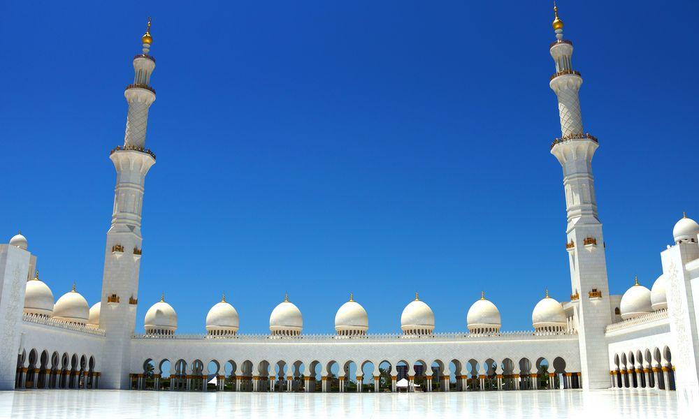 Scheich Zayid Moschee AbuDhabi