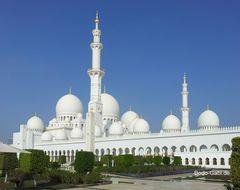 Scheich-Zayid-Moschee am Tag II