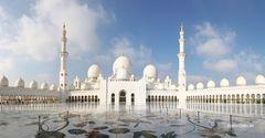Scheich-Zayid-Moschee am Tag III