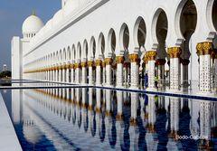Scheich-Zayid-Moschee am Tag IV