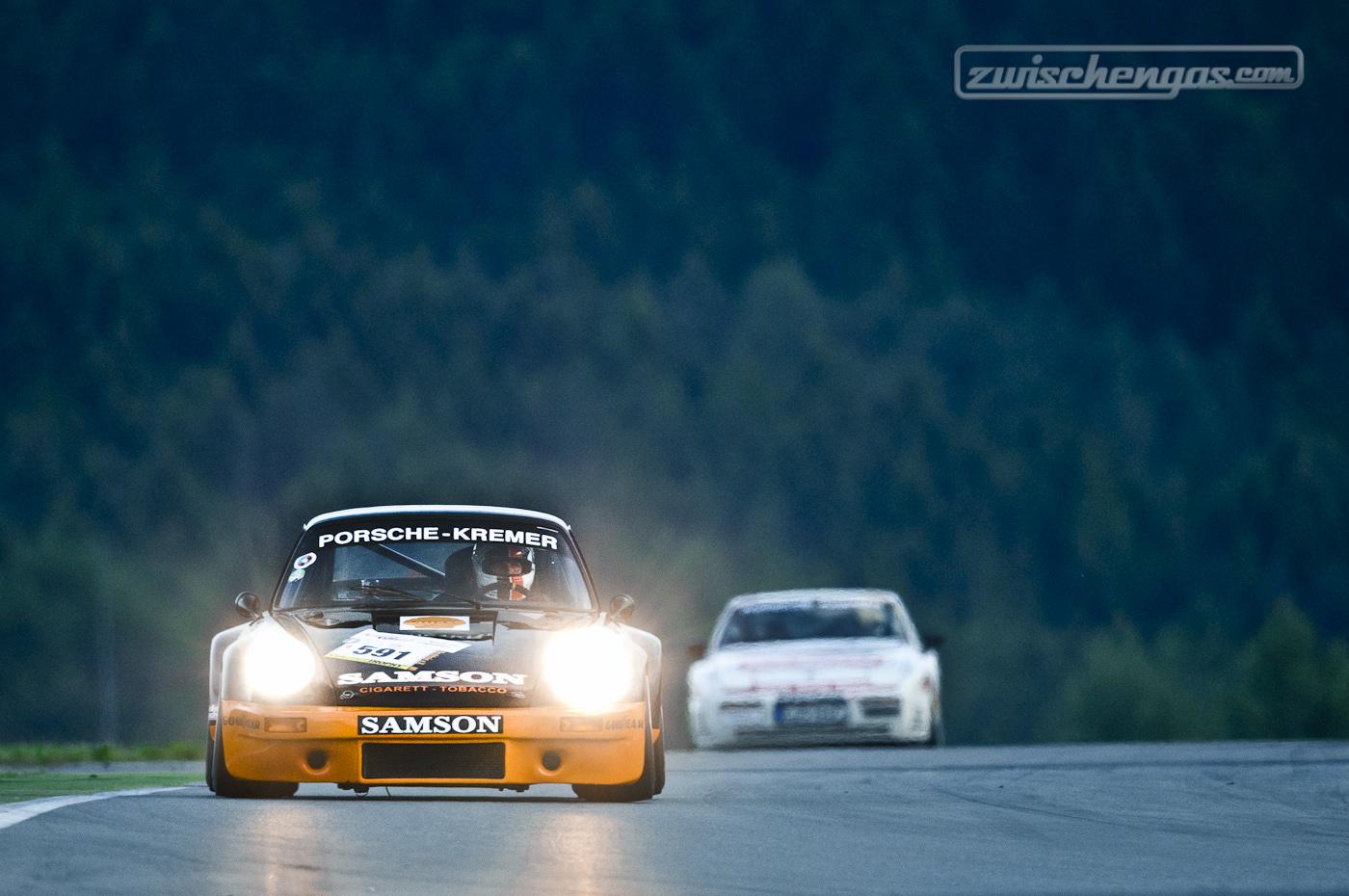 Scheinwerfer Serie VII: Porsche Kremer RSK