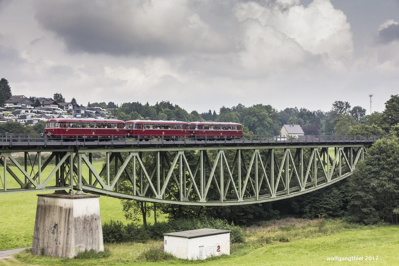 Scherler Viadukt mit VT 98