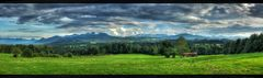 Scheune im Halbschatten Panorama ;-)