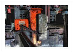 Schichthöhe .. auf Zollverein