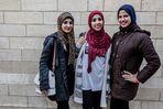 Schicke Muslimas im koptischen Viertel