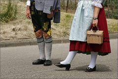 schicke Strümpf' und schöne Schuh'...