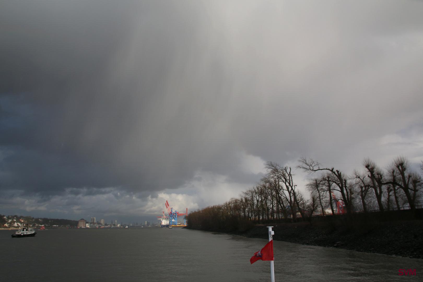 Schied Wetter in Hamburg