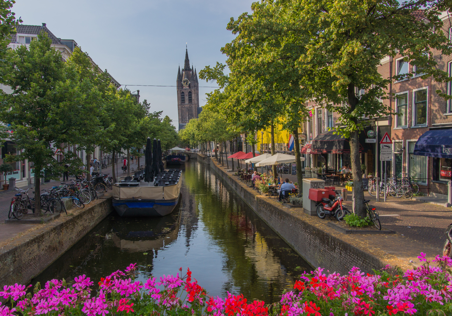 schiefer Turm - Delft/Niederlande