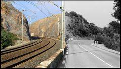 Schiene vs Strasse