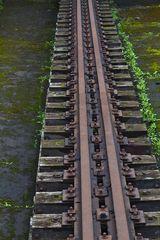 Schienen auf der Hütte