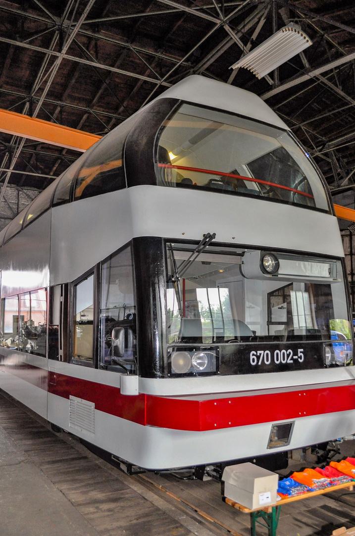 Schienenbus Baureihe 670