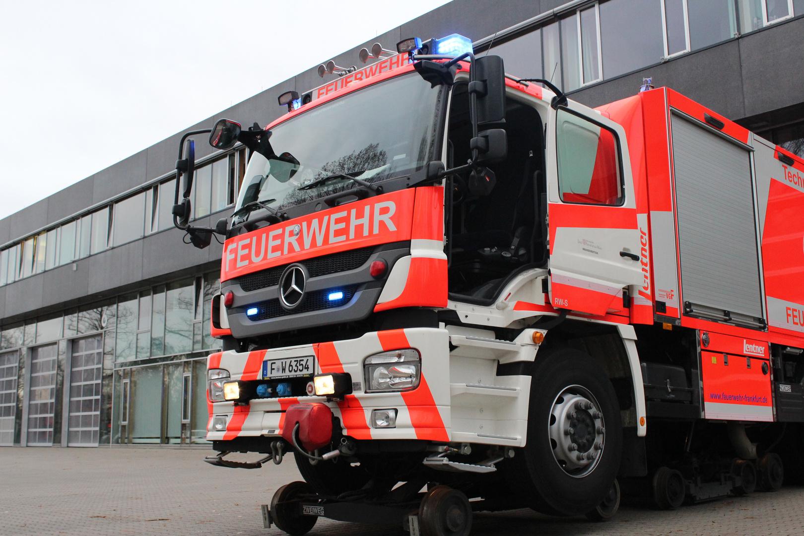 Schienenfahrzeug der Berufsfeuerwehr Frankfurt am Main I
