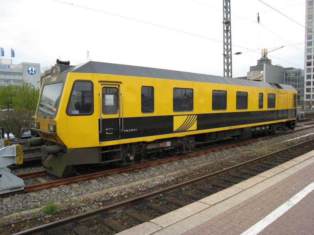 Schienenprüfwagen