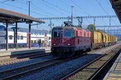 Schienenschleifzug in Pfäffikon SZ