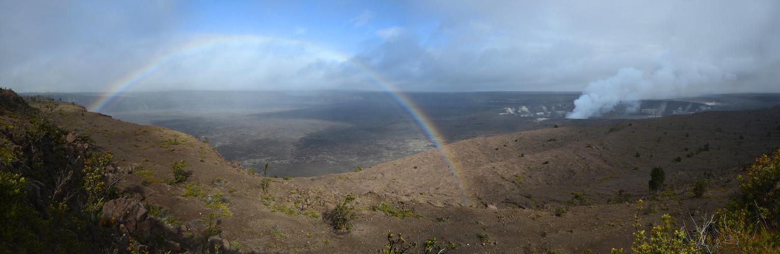 Schietwetter am Kilauea