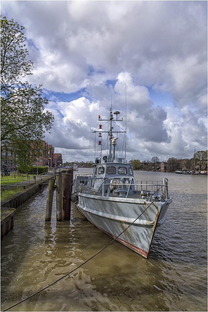 Schiff im Museumshafen von Leer