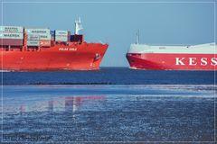 Schiffe gucken