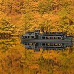 Schifffahrt durchs Herbstgold