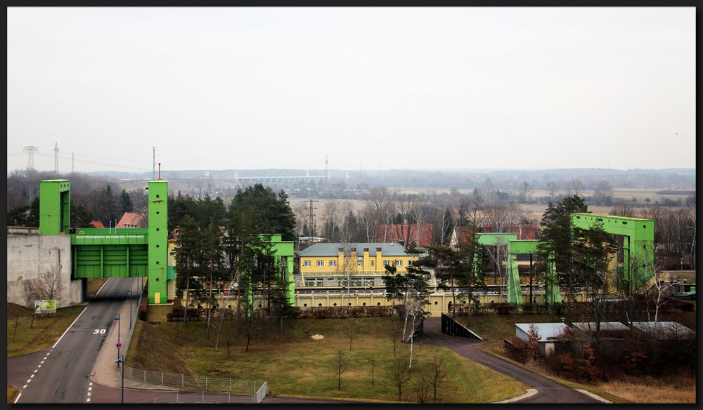 ...Schiffshebewerk Magdeburg-Rothensee...