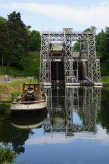 Schiffshebewerk Nr. 3 am Canal du Centre (2)