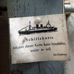 Schiffskarte...