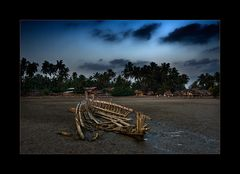 Schiffswrack am Chauntha Beach