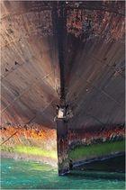 Schiffswrack im Hafen von Arrecife