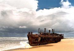 Schiffswrack Maheno