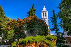 Schildkrötenbrunnen, Sibenik, Dalmatien, Kroatien