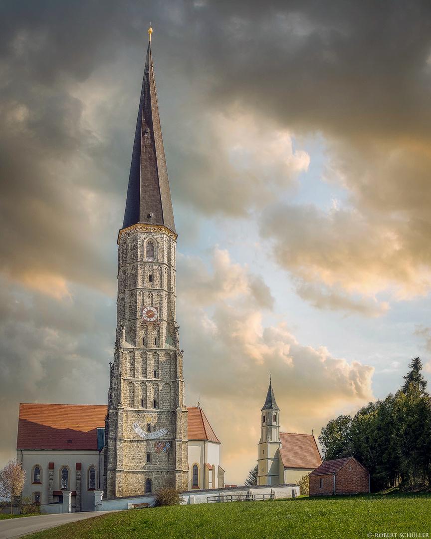Schildthurn: zwei Kirchen für die Wallfahrer.