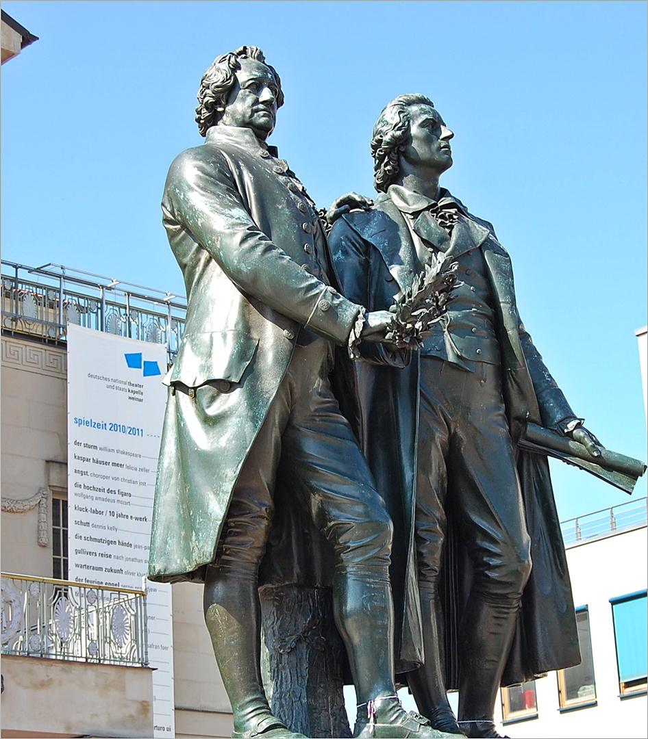 Goethe und Schiller - Geschichte einer Freundschaft - von Rüdiger Safranski - blogger.com