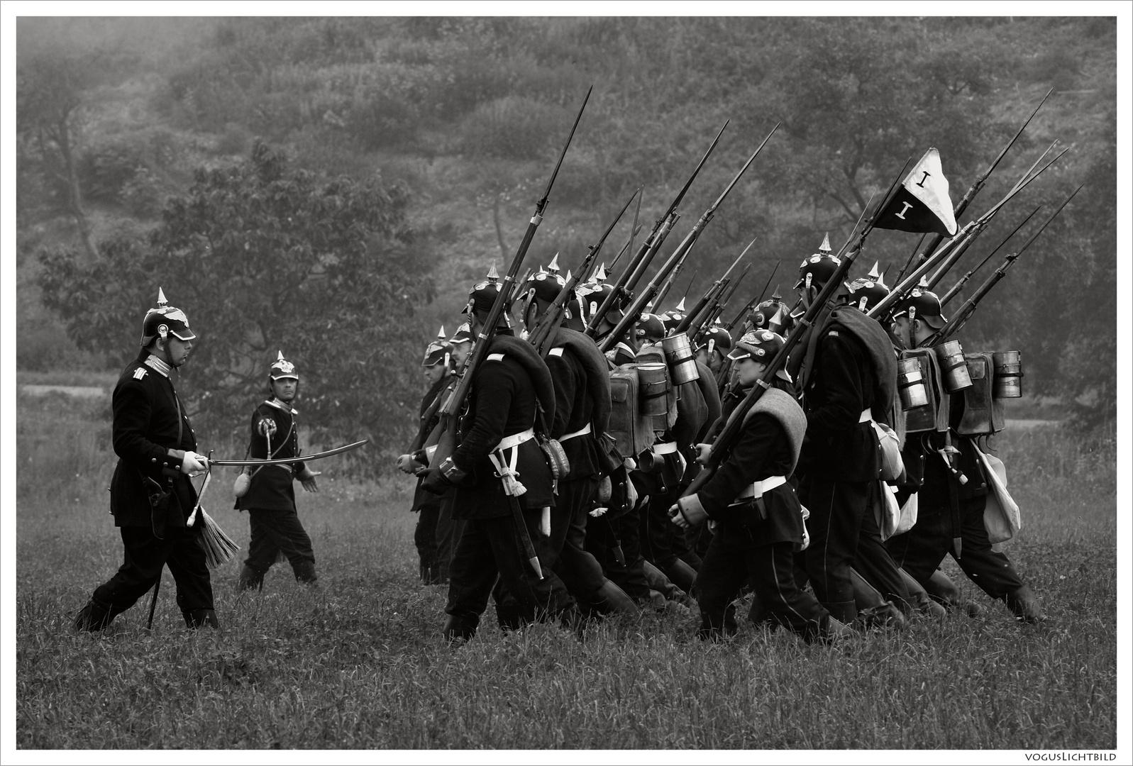 Schlacht bei Königgrätz - Die Preussen kommen
